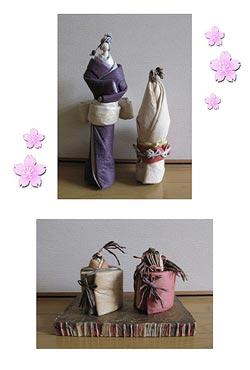 ぬくもりの手仕事 大島道子 和紙人形展