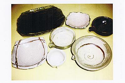 リンゴ釉・メロン釉の器 東典男作陶展