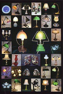 アンティークの灯り 展示即売会 …石館 央