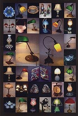 アンティークの灯り アメリカンアンティーク雑貨・オパール展示即売会 …洋灯舎